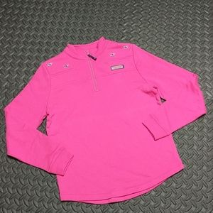 💐Vineyard Vines Hot Pink Shep Shirt